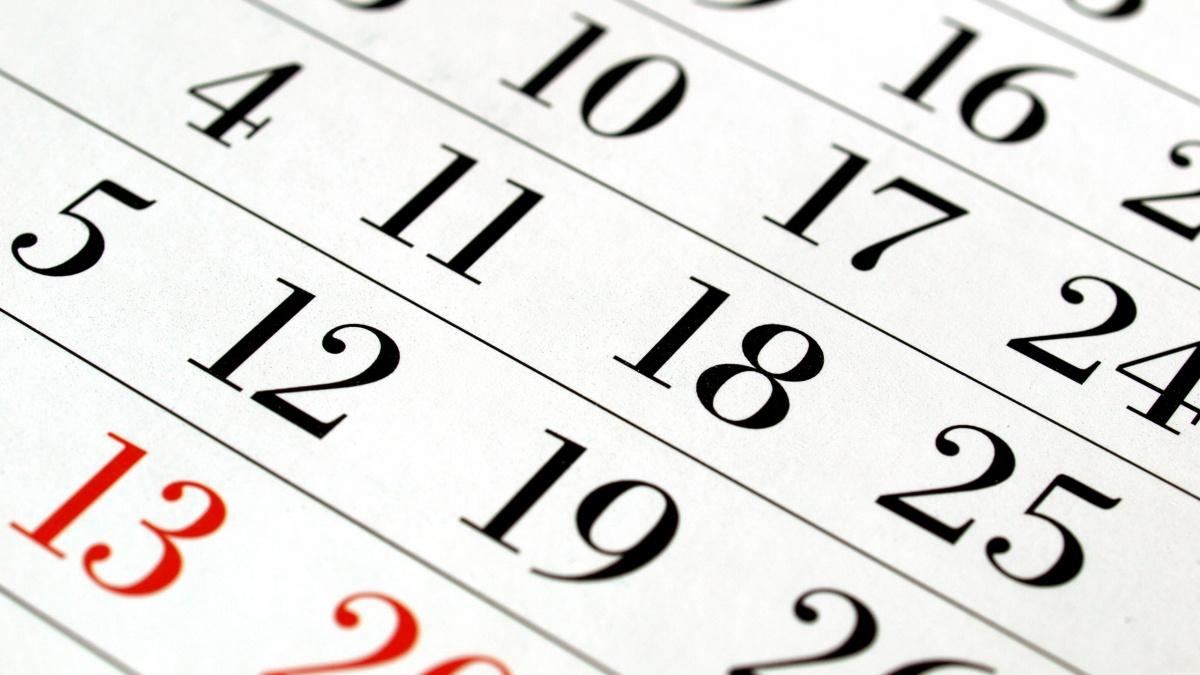 Läsårstider, stängningsdagar och ledighet