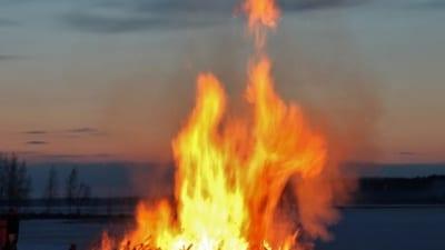 Eldning utomhus