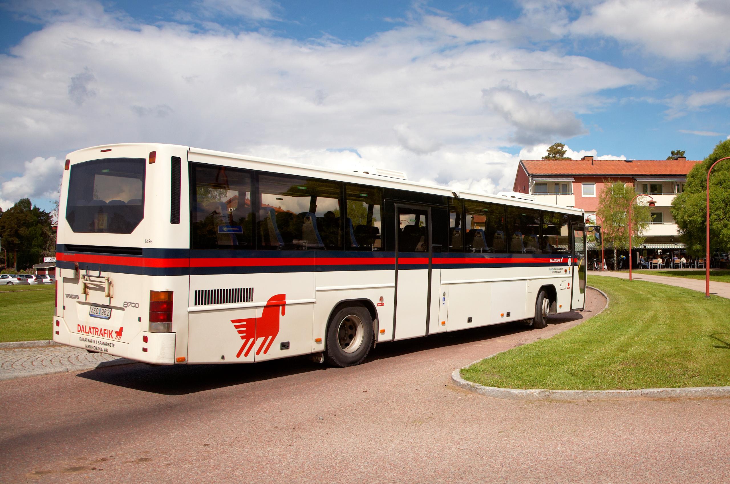 Kostnadsfritt för färdtjänstresenärer som vill åka buss