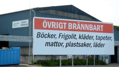 Återvinningscentralen stängd 18-19 november