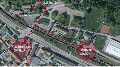 Planprogram sambandet mellan Säters järnvägsstation och centrum