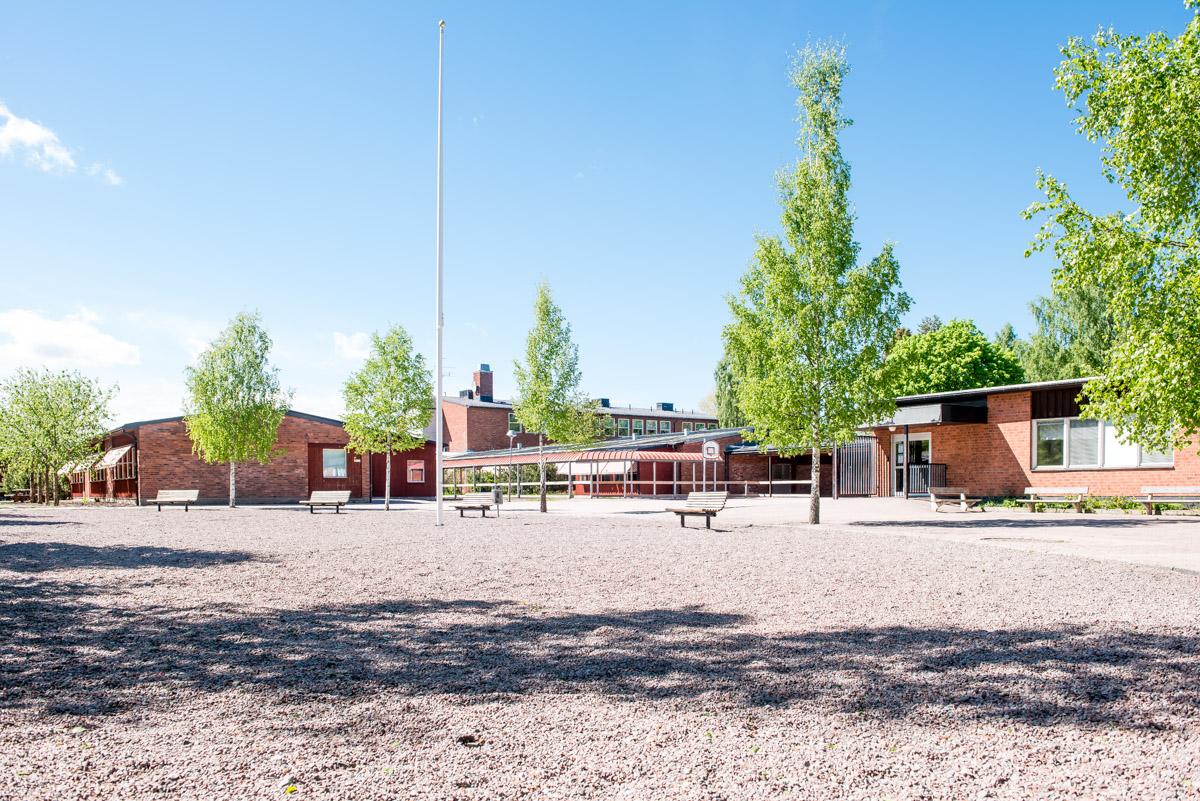Klockarskolan innergård