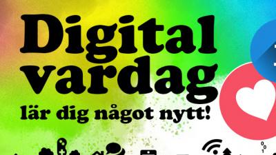 Text: Digital vardag lär dig något nytt