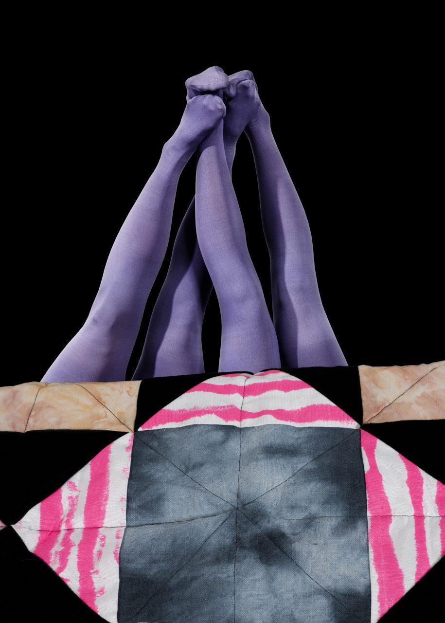 ben i lila strumpbyxor